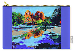 Cathedral Rock - Sedona Carry-all Pouch by Elise Palmigiani