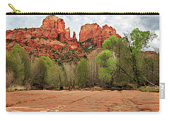 Carry-all Pouch featuring the photograph Cathedral Rock Sedona by James Eddy