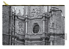 Carry-all Pouch featuring the photograph Cathedral Valencia Spain by Joan Carroll