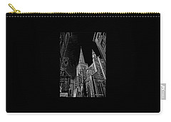 Carry-all Pouch featuring the photograph Cathedrale St/. Vincent by Elf Evans