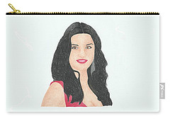 Catherine Zeta Jones Carry-all Pouch
