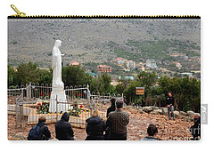 Catholic Pilgrim Worshipers Pray To Virgin Mary Medjugorje Bosnia Herzegovina Carry-all Pouch