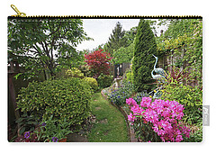 Cathy's Garden - A Little Slice Of England Carry-all Pouch by Gill Billington