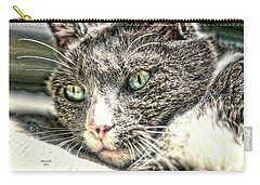 Cats Eyes Carry-all Pouch by Dennis Baswell