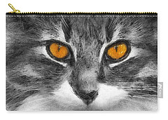 Cats Eyes Carry-all Pouch by Ian Mitchell