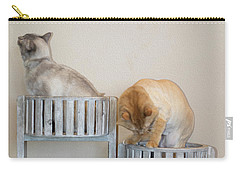 Cats In Baskets Carry-all Pouch
