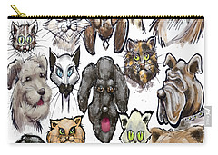 Cats N Dogs Carry-all Pouch