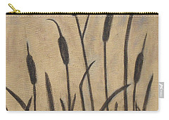 Cattails 2 Carry-all Pouch by Trish Toro
