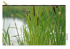 Cattails And Still Water Carry-all Pouch