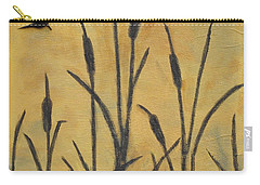 Cattails I Carry-all Pouch by Trish Toro