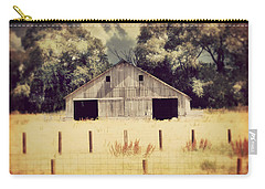 Hwy 3 Barn Carry-all Pouch by Julie Hamilton