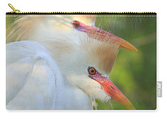Cattle Egrets In Breeding Plumes Carry-all Pouch