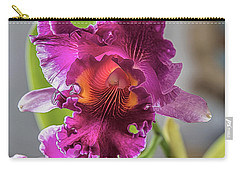 Cattleya Carry-all Pouch by Alana Thrower