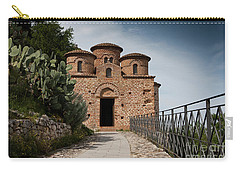 Carry-all Pouch featuring the photograph Cattolica Di Stilo by Bruno Spagnolo