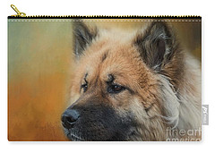 Caucasian Shepherd Dog Carry-all Pouch by Eva Lechner
