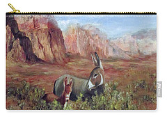 Caught In The Brush Carry-all Pouch