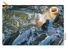 Caught In The Masses Carry-all Pouch