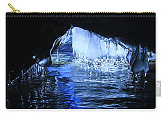 Carry-all Pouch featuring the photograph Cave Dwellers by Sean Sarsfield