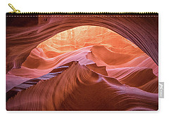 Carry-all Pouch featuring the photograph Cave Of Dreams by Patricia Davidson