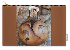 Cave Paintings Carry-all Pouch by Barbara Prestridge