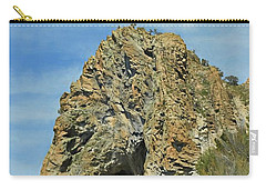 Carry-all Pouch featuring the photograph Cave Rock At Tahoe by Benanne Stiens