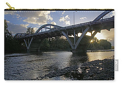 Caveman Bridge At Sunset Carry-all Pouch