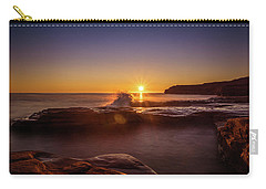 Cavendish Waves At Sunrise Carry-all Pouch
