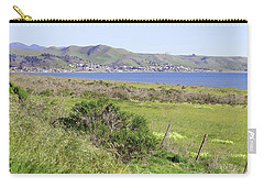 Carry-all Pouch featuring the photograph Cayucos Coastline - California by Art Block Collections
