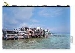 Carry-all Pouch featuring the photograph Cedar Key by John M Bailey
