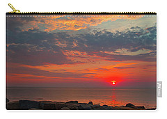 Cedar Point Sunrise Carry-all Pouch