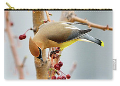 Cedar Waxwing 2 Carry-all Pouch