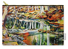 Ceeekbed, Fall Colors 4 Carry-all Pouch by Rae Andrews