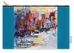 Cefalu Seaside Carry-all Pouch by Elise Palmigiani
