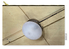 Ceiling Light On Antique Train Carry-all Pouch