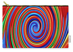 Celebrate Life And Have A Swirl Carry-all Pouch