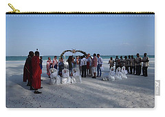 Celebrate Marriage On The Beach Carry-all Pouch