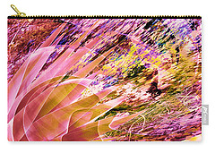 Celebration In Pink Carry-all Pouch by Stephanie Grant