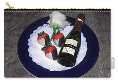 Celebration Plate Carry-all Pouch by Sally Weigand