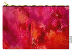 Celebrations Wedding Pink Abstract  Carry-all Pouch