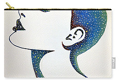 Celeste Carry-all Pouch by Edwin Alverio