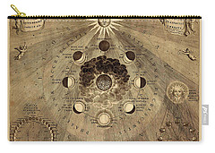 Celestial Map 1710b Carry-all Pouch by Andrew Fare
