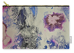Carry-all Pouch featuring the painting Celestial by Michele Myers
