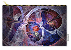 Celestial North - Fractal Art Carry-all Pouch