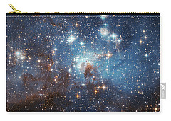 Carry-all Pouch featuring the photograph Celestial Season's Greetings From Hubble by Nasa