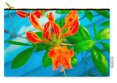 Carry-all Pouch featuring the photograph Celestial Skies Budding Azalea by Aimee L Maher Photography and Art Visit ALMGallerydotcom