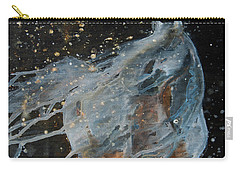Carry-all Pouch featuring the painting Celestial Stallion  by Jani Freimann
