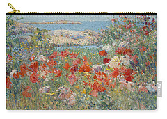 Celia Thaxter's Garden, Isles Of Shoals, Maine Carry-all Pouch
