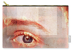 Carry-all Pouch featuring the photograph Cellmate 0542 by Carol Leigh