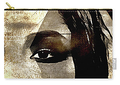 Carry-all Pouch featuring the photograph Cellmate 0753 by Carol Leigh