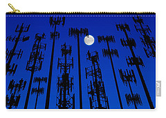 Cellphone Tower Forrest Carry-all Pouch